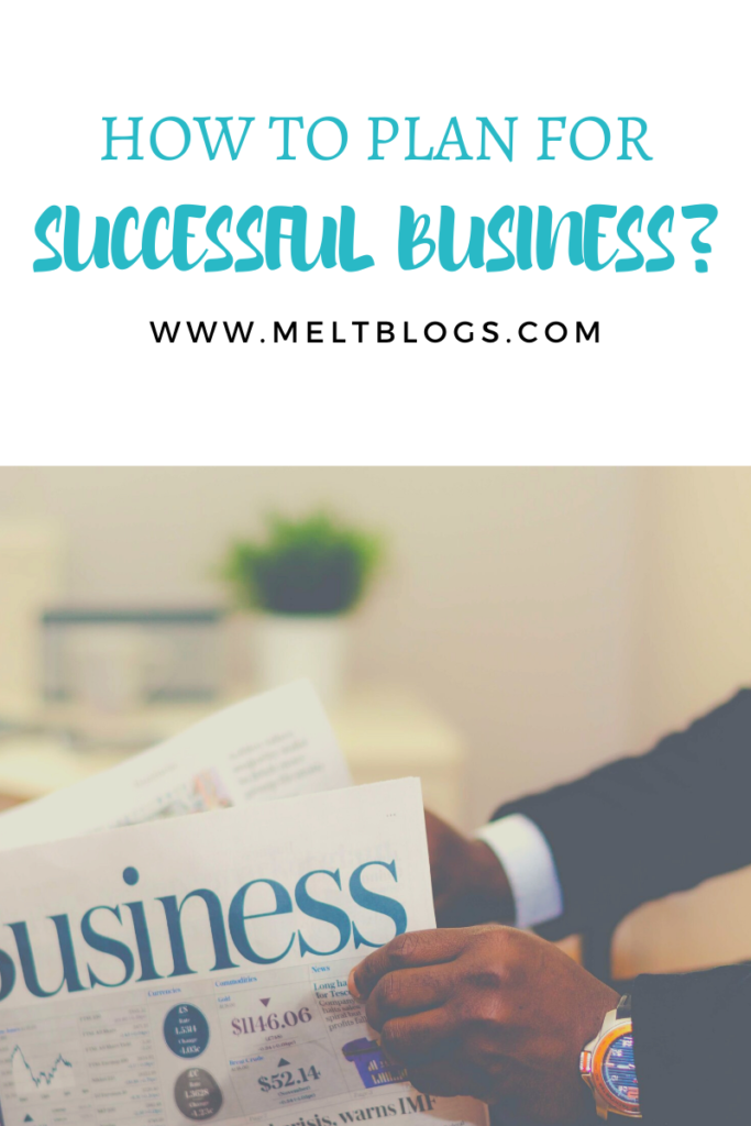 how to plan for successful business?
