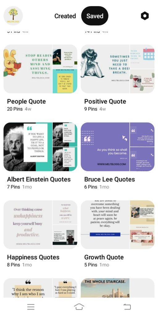 how a blogger can grow on Pinterest?